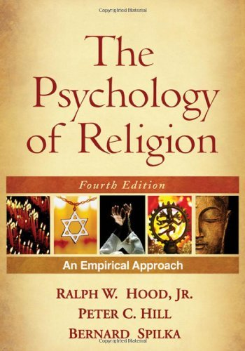 By Ralph W. Hood Jr. - The Psychology of Religion: An Empirical Approach, 4th Edition (4th Edition) (8.12.2009)