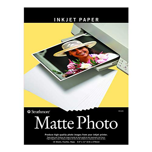 R-59-635 Matte Digital Photo Paper, 8.5 by 11
