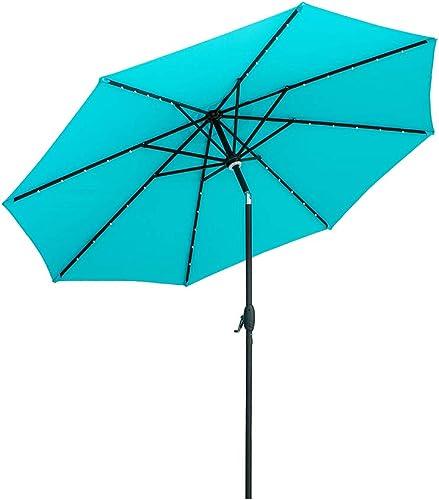 Ainfox 10ft Solar Patio Umbrella