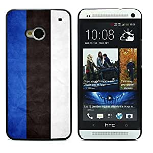 Graphic4You Vintage Estonian Flag of Estonia Design Hard Case Cover for HTC One (M7) by ruishername