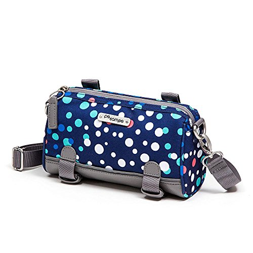 Kinga Handlebar Bike Purse, Bubbles Bicycle Bubble