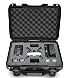 CASEMATIX iP67 ELITE DJI Spark Case for Spark Fly More Bundle , Drone Controller , Charger , 5 Spark Batteries , Battery Charger Hub and More Accessories MADE IN NORTH AMERICA , WATERPROOF , AIRTIGHT