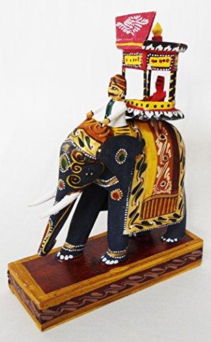 India4you Navarthri Golu Dolls Kondapalli Elephant Ambari