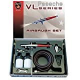 amazon airbrush - Paasche VL-SET Double Action Siphon Feed Airbrush Set