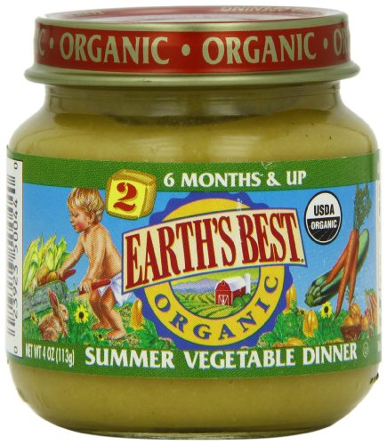Earths Best Organic Summer Vegetable