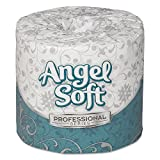 Angel Soft Toilet Paper Georgia Pacific Professional 16880 Angel Soft Ps Premium Bathroom Tissue, White (Pack of 80)