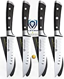 gladiator edge - Dalstrong Steak Knives Set - Gladiator Series - Straight Edge - German HC Steel - w/Sheaths