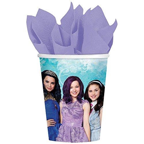 Disney Descendants Cups 8 count 9 oz. party supplies