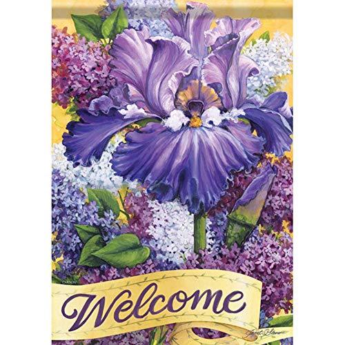 (Carson Home Accents 49233 Classic Garden Flag, Multi-Color)