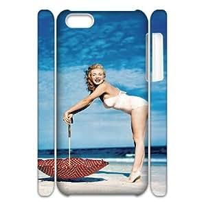 diy zheng Diy 3D Case Marilyn Monroe for Ipod Touch 5 5th