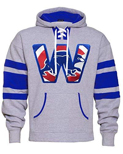 Cub Hoodie Sweatshirt - Thats Cub Run for The W Game Day Hoodie (Medium)