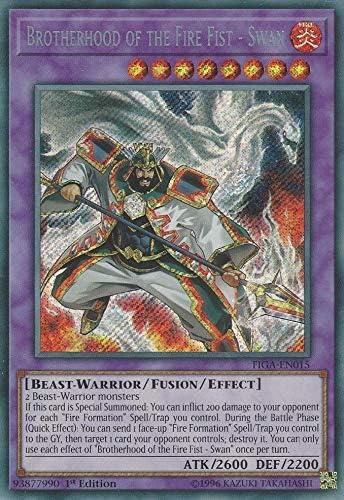 eagle FIGA-EN016 secret rare 1st Yu Gi Oh Brotherhood of the fire fist