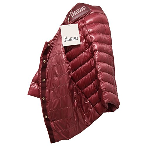 Herno 0552W piumino donna light bordeaux ultra light jacket woman [42]: Amazon.es: Ropa y accesorios