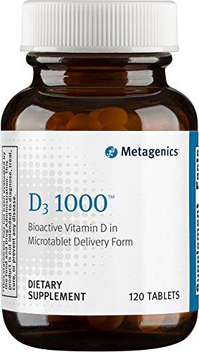 Metagenics - D3 1000, 120 Count