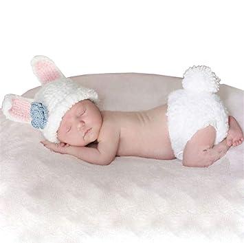 YYCLOTH Bebé recién Nacido Ganchillo Tejido Accesorios de fotografía ...