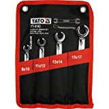Yato YT-0143 Two Flat Spanners, 8 – 17 mm Holes