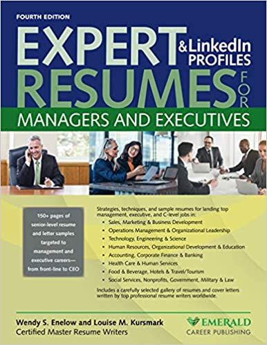 Expert Resumes and Linkedin Profiles for Managers