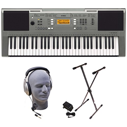 Yamaha PSRE353 Portable Keyboard Headphones
