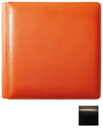 Raika RM 105-F BLK 11 x 12 Large Single Page Photo Album - Black by Raika® (Image #1)