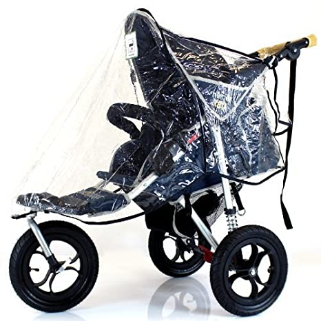 Funda impermeable para cochecito de paseo de bebé, para correr, resistente al agua, resistente al viento: Amazon.es: Bebé