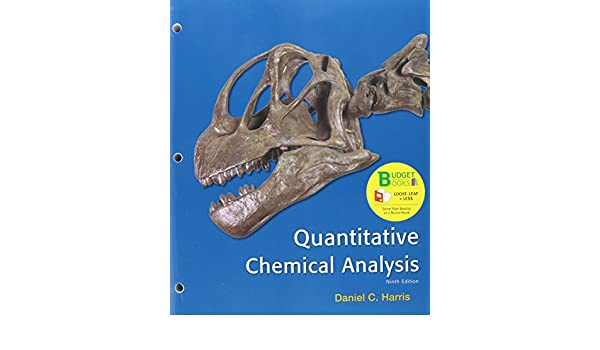 AmazonCom LooseLeaf Version For Quantitative Chemical Analysis