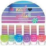 Super Girls Kinder Nagellack SET / Waterbase Kids Nail Polish SET 6 teilig