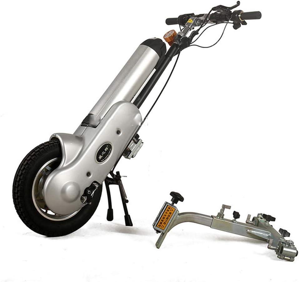 MOIMK 12 Pulgadas 36V 400W Silla de Ruedas eléctrica Tractor Handcycle Handbike DIY Kits de conversión de Silla de Ruedas eléctrica con 36V 15Ah de la batería