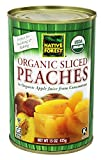 Native Forest - Peaches Sliced Organic - 15 oz.(pack of 2)