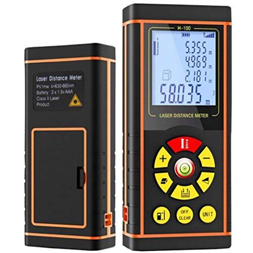 NUNET Portable Measuring Laser Distance Meter W...