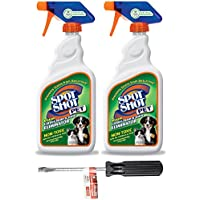 Spot Shot 099126 Instant Carpet Pet Stain & Odor Eliminator, 22 oz. (2 PACK + PLEXTOOL(TM) BUNDLE)