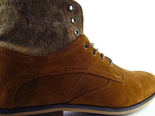 Cardin Bottine Camel PC1610SM Marron Cuir Pierre q5dgZq