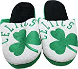 NBA Boston Celtics Men's Slippers Green (Small (7-8))