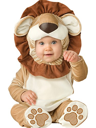 InCharacter Costumes Baby's Lovable Lion Costume, Brown/Tan/Cream, Small - Baby Animals In Costumes