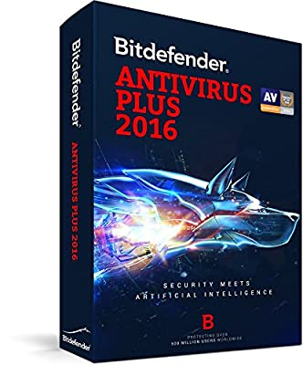 Bitdefender Antivirus Plus 2016 1PC/1Year