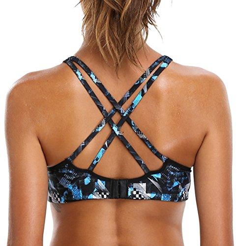 Attraco women's sports bra strappy sports bra activewear bra yoga bra fitness s