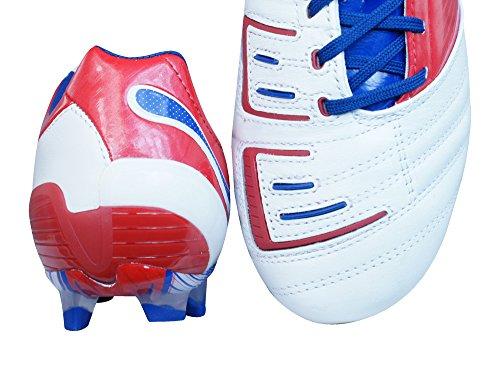 Puma - Botas de deportivo para hombre, tamaño 7.0 UK - 40.5 EU, color blanco / rot / blau weiß / rot / blau (weiß / rot / blau)