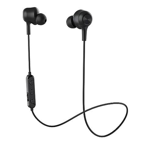 39ab3e8822c Wireless Headphones Bluetooth 5.0 Earbuds Wireless Earbuds Stereo Bass  Magnetic Bluetooth Headphones with Microphone CVC 6.0