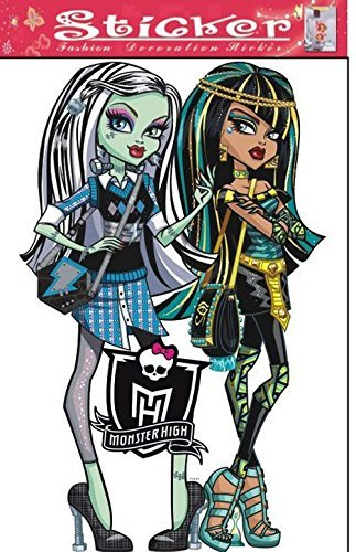 Monster High Frankie Stein and Cleo De Nile Wall Decal]()