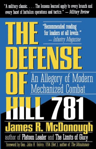 Amazon the defense of hill 781 an allegory of modern the defense of hill 781 an allegory of modern mechanized combat by mcdonough fandeluxe Images