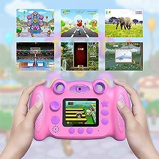 Campark Kids Camera Digital Camera for Kids 4-8 Years Old Shockproof Video Camera for Girls Boys Toddler Indoor Outdoor Travel