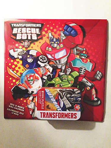 transformers-rescue-bots-2015-12-month-wall-calender-and-autobot-mini-puzzle-bundle-great-stocking-s