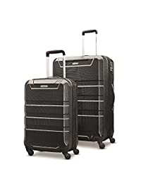 Samsonite Invoke 2 Piece Nested Hardside Set (spinner 20/spinner 28) Luggage Set, Black