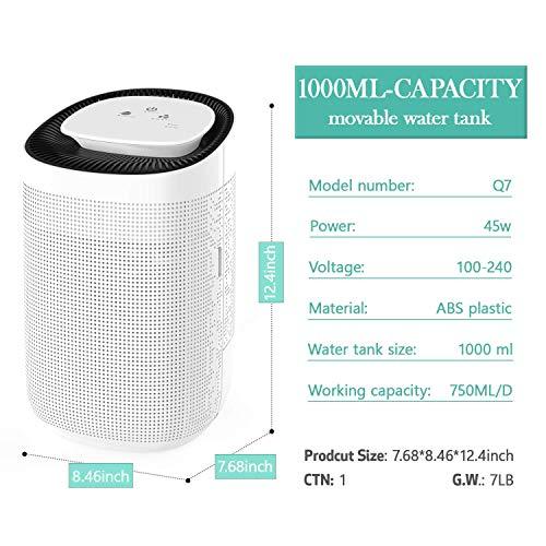 Honati Small Dehumidifier