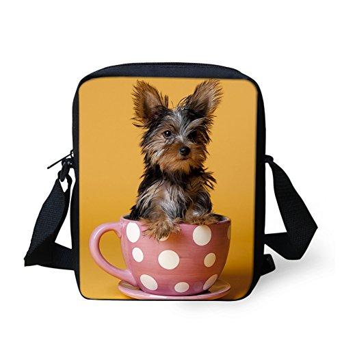 HUGS pour petit Yorkshire femme IDEA Terrier Husky 3 1 Sac H11166E bandoulière Y 4fqTx6gw4