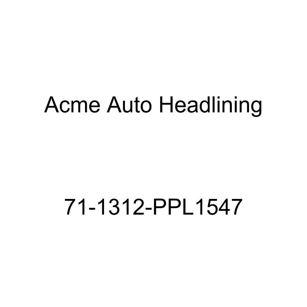Acme Auto Headlining 71-1312-PPL1547 Medium Blue Replacement Headliner 1971 Cadillac Eldorado 2 Door Hardtop 5 Bow