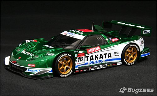 1/32 TAKATA 童夢 NSX #18(ホワイト×グリーン) 「オートバックス SUPER GT 2008シリーズ」 B1524