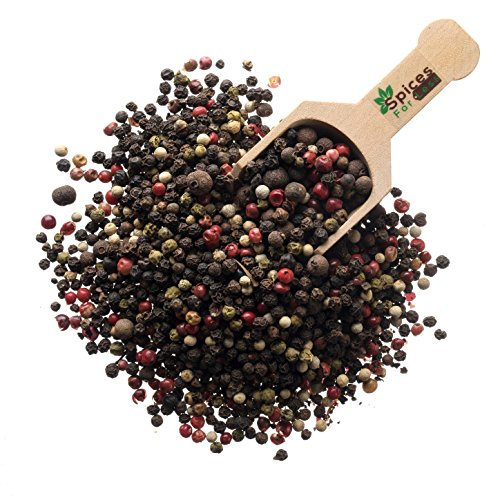 Peppercorns, Five Blend Whole (8oz) by Spices For Less (Image #1)