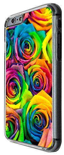 940 - cool cute fun colourful roses dye flowers nature shabby chic flora Design For iphone 4 4S Fashion Trend CASE Back COVER Plastic&Thin Metal -Clear