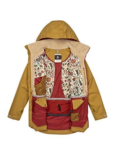 De Prowess Plantation Jacket persimmon Veste Snowboard Burton xBaztnAz