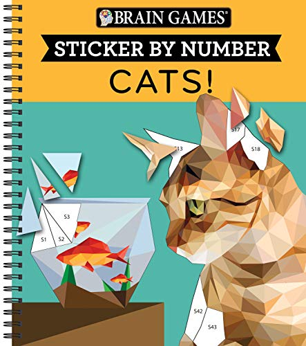 (Brain Games - Sticker by Number: Cats!)